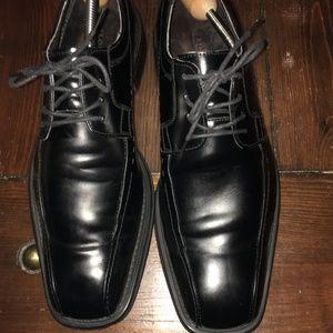Florsheim Black Orion Oxford, Size 10